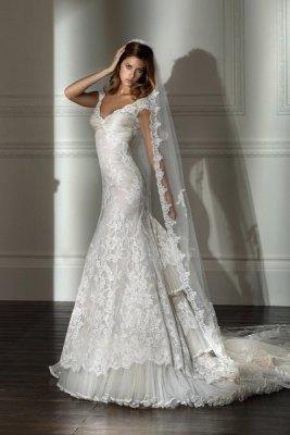 Французское свадебное платье фото