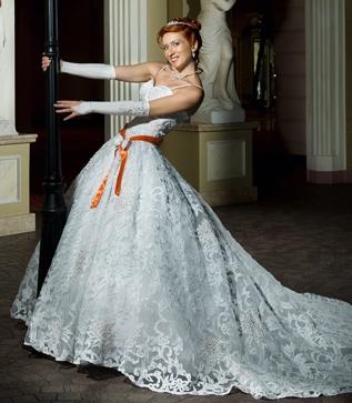 Расшивка для свадебного платья