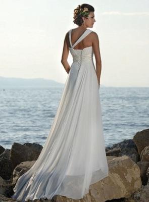Свадебное платье NWP-62071 Свадебное платье Уникальный наклонный дизайн...