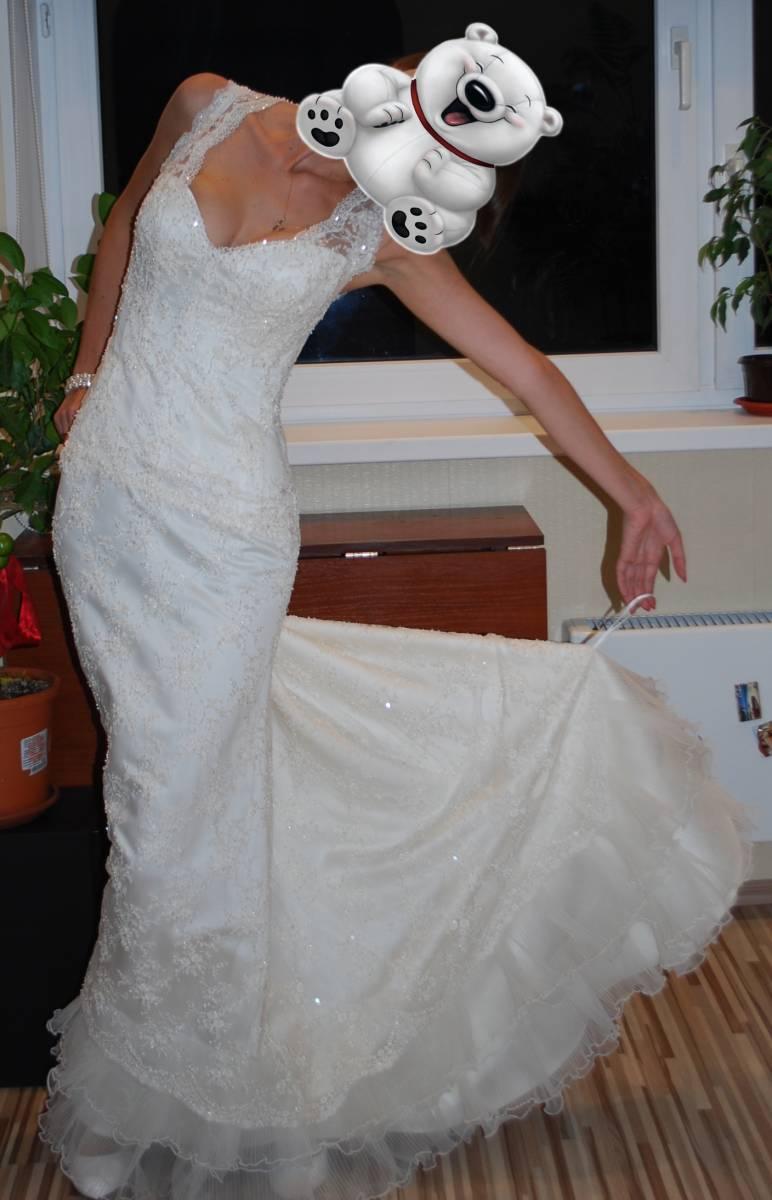 Как сделать петельку на шлейф платья