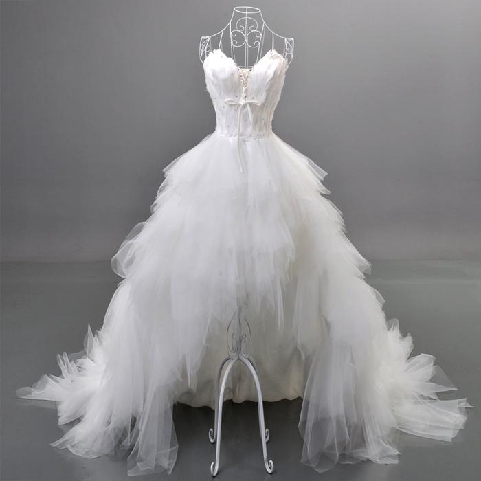 Счастливое свадебное платье за 5000 руб