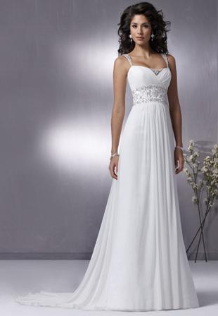 Свадебное платье в стиле ампир (Москва