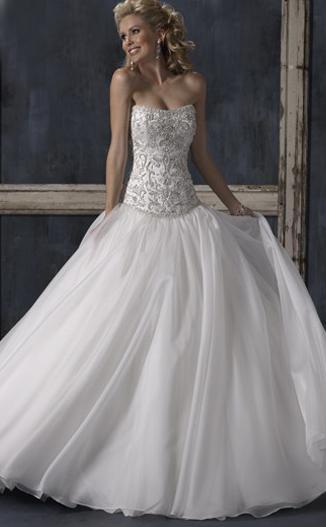 Шикарное Свадебное Платье С Корсетом 86