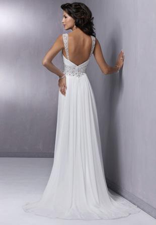 Купить Свадебное Платье В Стиле Ампир Из Шифона 86. «