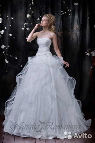 aa060f635b4 31.05.2017 Ирина разместила объявление о продаже Свадебное платье с  открытой спиной. за 17000 рублей