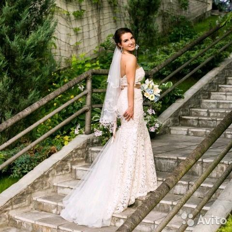 ad10bbae46c 17.10.2017 Екатерина разместила объявление о продаже Свадебное платье ...
