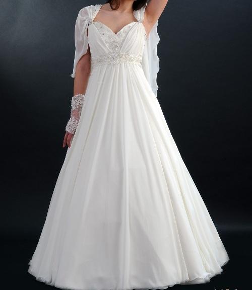 Греческое свадебное платье как сшить