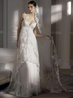 Продам свадебное платье Pronovias, Hillary. Испания, покупалось в ТК Сфере, у официальных представителей марки. По фигуре, длинный шлей