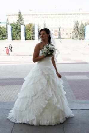 Продается свадебное платье в испанском стиле - ФОРУМ НЕВЕСТ