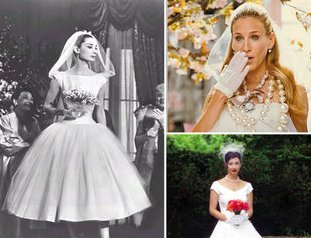 3ff9e9f4c1154c4 Ваш образ удачно дополнит и длинная фата-шлейф, очень популярная и у невест  той поры. Для зимней свадьбы можно выбрать изящную муфточку, горжетку или  ...