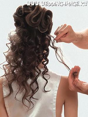 Кудри на длинные волосы мастер класс